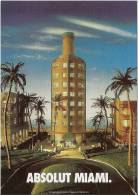 Lote PEP382, Colombia, Postal, Postcard, Absolut, Miami - Colombia