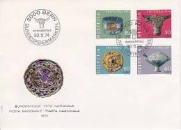 Schweiz Mi.-Nr. 1031-1034 FDC - FDC