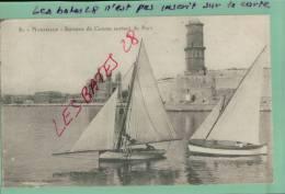 CPA  13,  , MARSEILLES, Bateaux De Course Sortant Du Port,  Scènes Et Types,  Transports, Voiliers,  Oct  2012 GER-446 - Autres