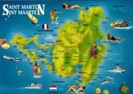 Antilles Françaises - Ile Saint-Martin - Sint Maarten Island - Saint Martin