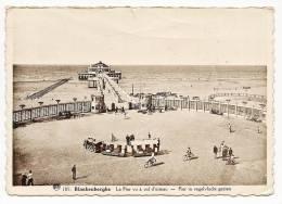 Blankerberghe - Le Pier Vu à Vol D'oiseau - Pier In Vogelvlucht Gezien - Back Is Written And Stamped 1938 - Blankenberge