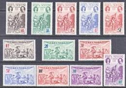 Reunion 177 B-G, C 13 A-F  *  VICHY - Reunion Island (1852-1975)