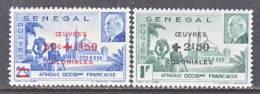 Senegal  B 15a-b  *  VICHY - Senegal (1887-1944)