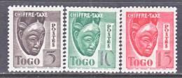 Togo J 31 A-c  *  VICHY - Unused Stamps