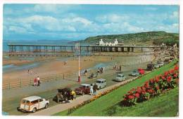 < Automobile Auto Voiture >> Morris Minor Travellor, Ford Anglia, Colwyn Bay - Turismo
