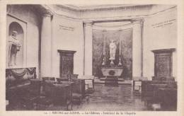 Cp , 45 , MEUNG-sur-LOIRE , Le Château , Intérieur De La Chapelle - Francia