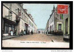78 - HOUDAN - HOTEL DU PLAT D´ETAUN - LA POSTE - Houdan
