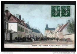 78 - HOUDAN - RUE D´EPERNON, LE JOUR DU MARCHE A LA VOLAILLE - Houdan