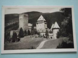 24500 PC: AUSTRIA: Salzburg: Schloss Finstergrun Bei Ramingstein. (Postmark 1935). - Österreich