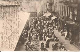 63 - CLERMONT-FERRAND,  MARCHE SAINT PIERRE - ECRITE 1904 - Clermont Ferrand