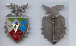 Insigne Du 27e Régiment De Commandement Et Soutien - Hueste