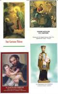 S. GAETANO DA THIENE  - LOTTO DI 4 SANTINI DIVERSI - M - Religione & Esoterismo