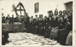 IBIZA, IGLESIA DE SANT MIQUEL - FIESTA DE LA VEJEZ . CARTE-PHOTO+- 1934 - Ibiza