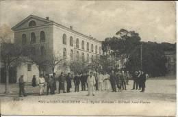SAINT-MANDRIER, L'HÔPITAL MARITIME, BÂTIMENT SAINT-FLAVIEN - SCAN R/V (CACHET DE L'HÔPITAL) - Guerra 1914-18