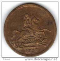 COINS  GRANDE BRETAGNE FAUX  SOUV  1837 .   (DP114) - Non Classés