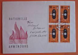 DDR Brief Energie 1981 Jena - Kassel - Briefe U. Dokumente