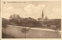 FONTAINE-VALMONT : Panorama - Eglise - RARE VARIANTE - Cachet De La Poste 1939 - Merbes-le-Château