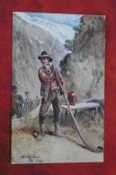 In The Alps The Echo  - Un Mot à La Poste - Raphaël Tuck N° 816 - Adolf 'Jodolfi'