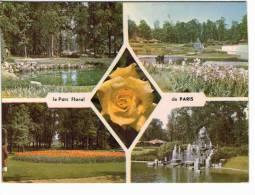 Paris - Parc Floral - Parcs, Jardins