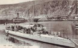 "Algérie.Oran.""L'Arc"",Contre-Torpilleur Dans Le Port D'Oran. - Oran"
