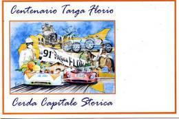 CENTENARIO TARGA FLORIO CERDA CAPITALE STORICA MUSEO VINCENZO FLORIO NUOVA NON VIAGGIATA FERRARI PORSCHE - Motorsport