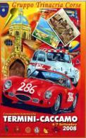 CRONOSCALATA TERMINI CACCAMO ALFA TZ  Abarth AUTOSTORICHE 2008 Nuova NON VIAGGIATA - Motorsport