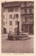 CPA 90 BELFORT, Vieille Fontaine. (animée) - Belfort - Ville