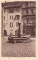 CPA 90 BELFORT, Vieille Fontaine. (animée) - Belfort - Ciudad