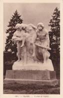 CPA 90 BELFORT, Statue A L'AGE DE PIERRE. - Belfort - Ciudad