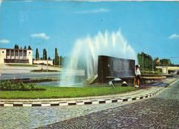 Postcard, Stationery, Stationary, Romania,  Bucharest - BANEASA RAILWAY STATION, (was Royal Railway... - Transports