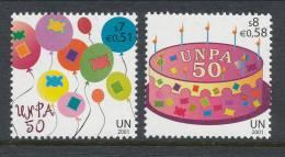 UN Vienna 2001 Michel # 342-343, MNH ** - Wien - Internationales Zentrum