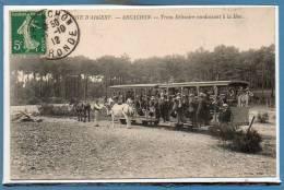 33 - ARCACHON --  Tram Bélisaire Conduisant à La Mer - Arcachon