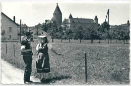 Bulle, Couple En Bredzon Et Dzaquillon, Maisons Colliard Et Brasey - Costumes