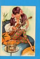 Illustrateur E. Feixz - Guitare - Fantaisie - Meunier, G.