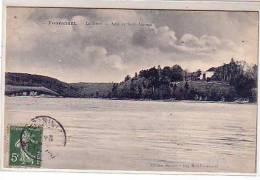 29 Fouesnant - La Forêt - Anse De Saint Laurent - Vue De La Villa - édition Bernès Beg Meil N° 27 - Fouesnant