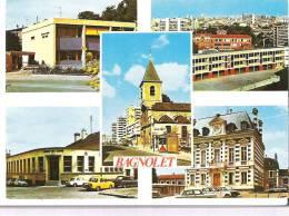 93 - BAGNOLET - MULTIVUES - 1975 - Bagnolet