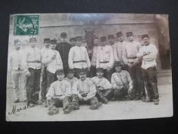 Militaires Besançon 1908 Artilleurs Famille Marcel Rosa Lagneau Vennecy Marigny-les-Usages - Militaria
