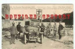 PRIX FIXE < GUERRE 14 - Ambulancier Et Colonel D'Etat Major - Voiture Automobile Zèbre - Dos Scané
