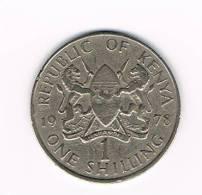 KENYA 1 SHILLING   1978 - Kenya