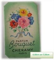 BOUQUET DE { CHERAMY } - Perfume Cards