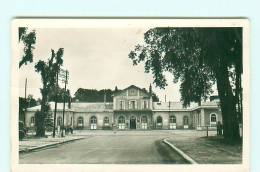 SAINTE-MENEHOULD / LA GARE / CARTE-PHOTO - Sainte-Menehould