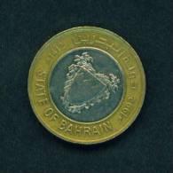BAHRAIN  -  1992  100 Fils  Bimetal  Circulated As Scan - Bahrain