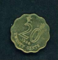 HONG KONG  -  1994  20 Cents  Circulated As Scan - Hong Kong