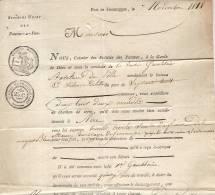 PORT DE JEMAPPES -POMPES A FEU -TRANSPORT CHARBON BATEAU SILENCE DE LILLE-AIRE SUR LYS - Historical Documents