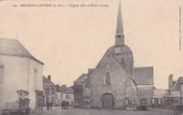 ¤¤   164 - MOISDON-la-RIVIERE - L'église   ¤¤ - Moisdon La Riviere