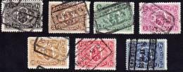 Série De 1921 Armes Du Royaume Cob CF 128 à 134 - 1915-1921