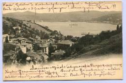 Vintage Card Constantinople Istanbul Stamboul Bosporus Um 1907 (400) - Türkei