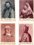 LOT IMAGE OLIVIER.HISTOIRE.CHARLEMA GNE.TOLTOI.METTERNICH.VIC TORIA.BISMARCK - Vieux Papiers
