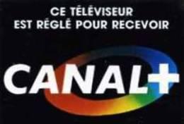 Autocollants Autocollant Publicité Télévision Canal + - Adesivi