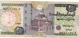 2007 Egypt 20 Pounds Circulated Egyptian Note - Egypte